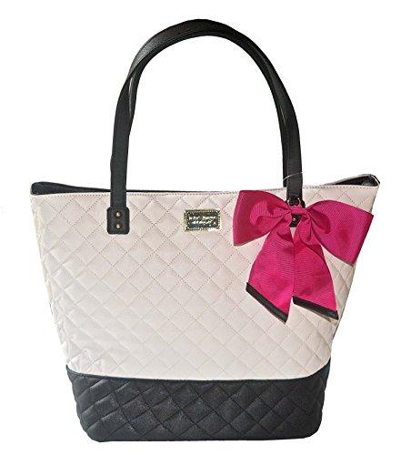 Betsey Johnson Be Mine Key Item Tote Shoulder Handbag