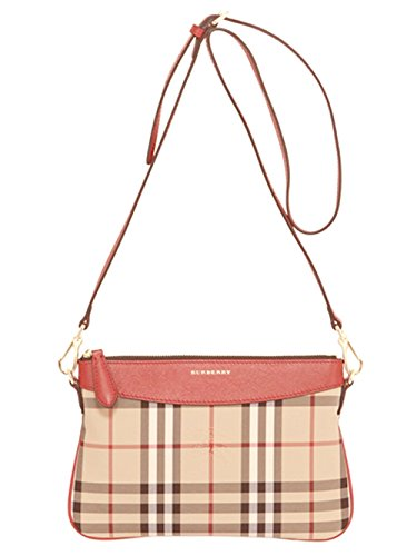 Burberry Peyton House Check Crossbody Purse Shoulder Bag