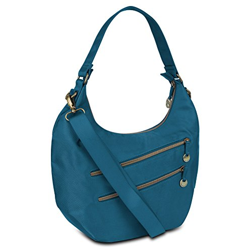 Travelon Convertible Hobo with RFID Protection – Ocean