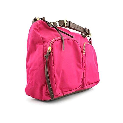 Steven Steve Madden Tudor Womens Pink Purse Nylon Satchel