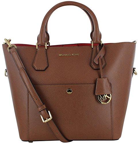 Michael Kors Large Greenwich Satchel Handbag Bag