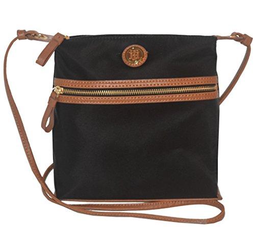 Tommy Hilfiger Nylon Crossbody Messenger Xbody Bag Handbag Purse