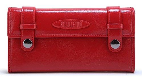 Scarleton Belt Accent Flap Wallet H3388