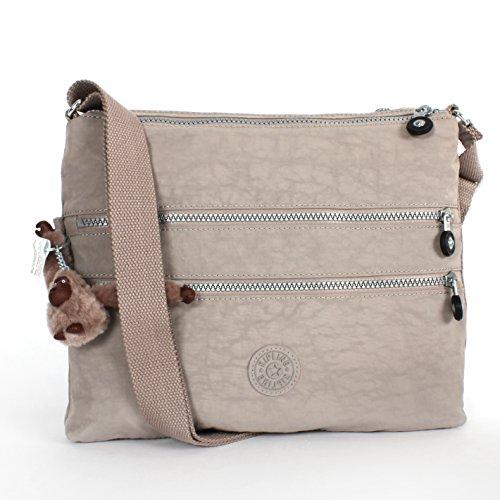 Kipling Alvar Crossbody Bag Dune Beige