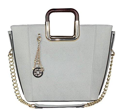 MyLux® Connection Shoulder Bag K68037l (Grey)