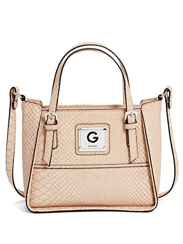G by GUESS Women's Amaury Croc-Embossed Mini Tote