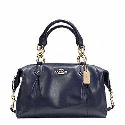 Coach Colette Leather Satchel Shoulder Bag F33806