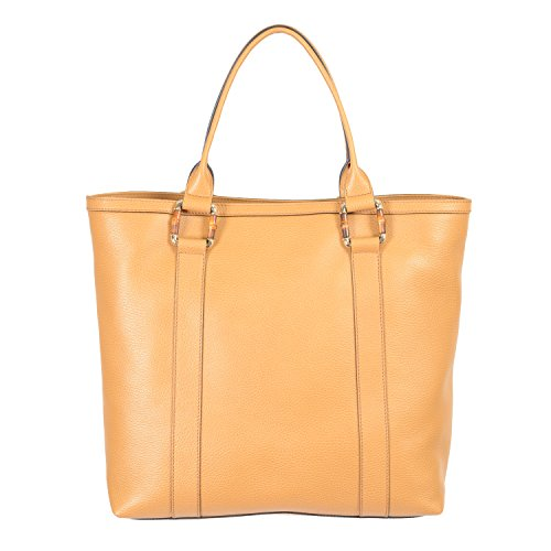 Gucci Women's Beige 100% Leather Tote Handbag Shoulder Bag