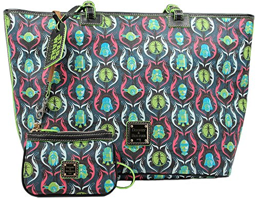 Disney Dooney & Bourke Star Wars Shopper Tote and Wristlet Set – Limited Edition of 200 – 2015 Star Wars Weekends Exclusive