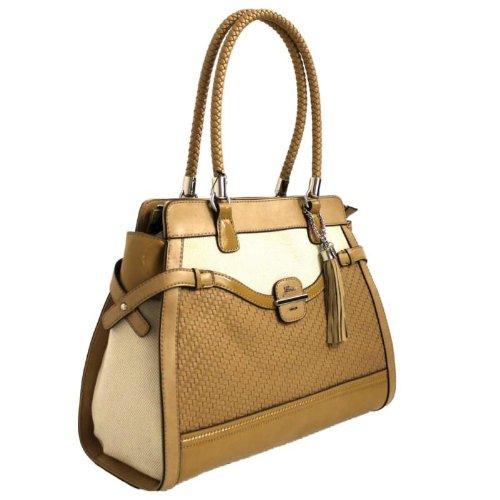 Guess Annalynne Carryall Handbag Nude FF375723