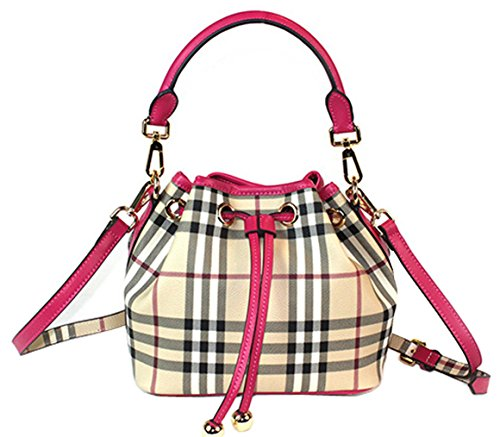 OULINBEIN Women And Girl Genuine Leather Tote Handbag Shoulder Bags Hobo