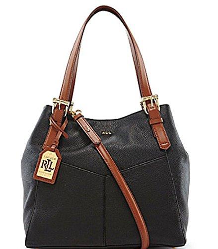 Lauren Ralph Lauren Landrey Tote Hobo Carryall Shoulder Bag 431504238001