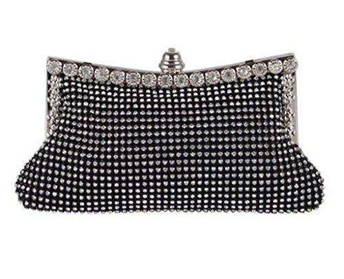 Handcee Twinkle lady's Diamante Dazzling Rhinestones Evening bag Clutch Handbag dinner bag