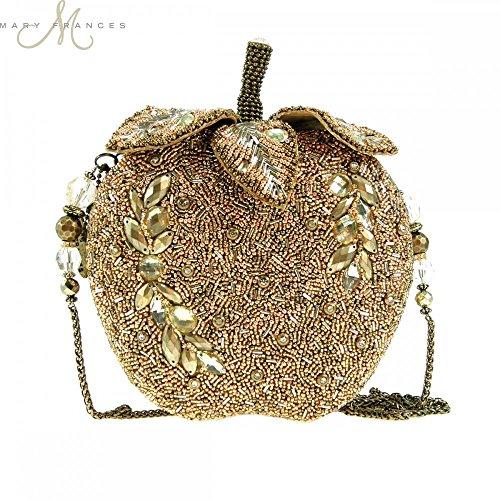 Mary Frances Golden Apple Handbag Handbag