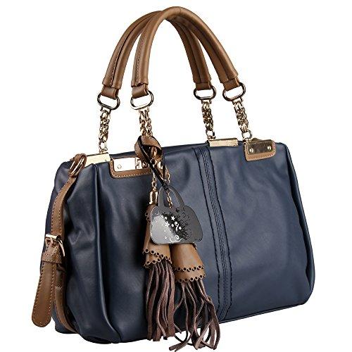 Hynes Eagle Vintage Handbags Fashion Tassels Top Handle Handbags