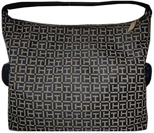 Tommy Hilfiger Hobo Handbag Bag Canvas