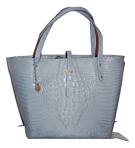 Brahmin All Day Tote Chambray Melbourne Genuine Leather