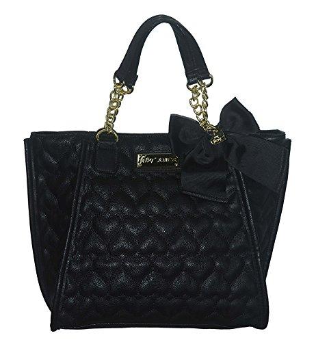 Betsey Johnson Be Mine Winged NS Tote Purse Bag Handbag