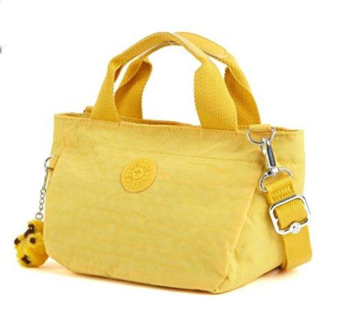 Kipling Sugar SII Small Handbag in Canary Yellow