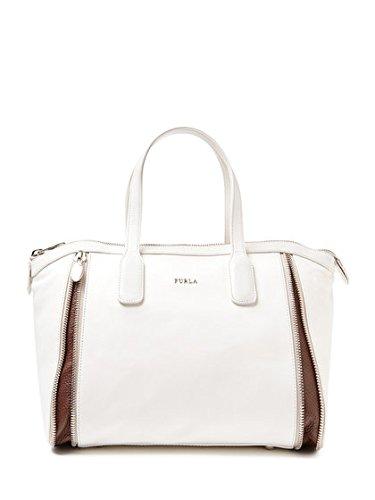 Furla Amazzone Leather Satchel Hand Bag