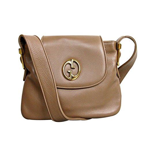 Gucci 1973 Brown Leather Tote Handbag Shoulder Bag 251809