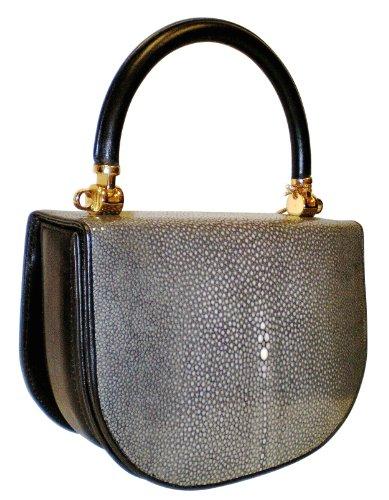 Lola GaBk – Genuine Stingray Skin Small Handbag