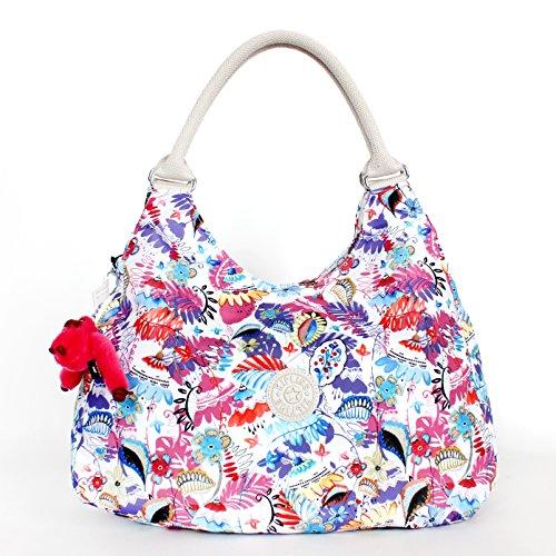 Kipling Bagsational Shoulder Bag Whimsy Floral Print