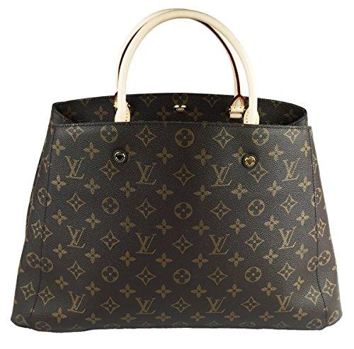 Louis Vuitton Montaigne GM Monogram M41067 Handbag Shoulder Bag Tote