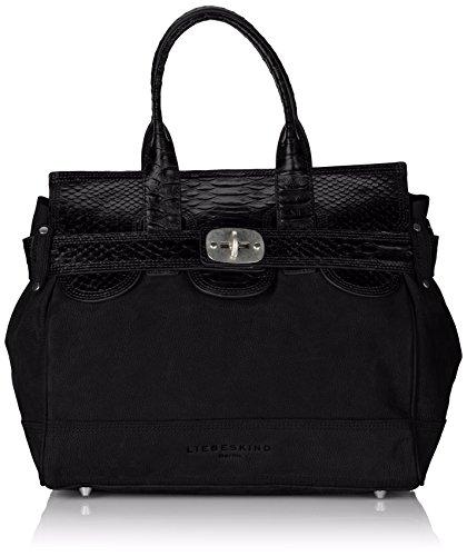 Liebeskind Berlin Gloria Satchel Bag, Black, One Size