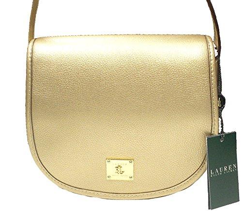 LAUREN Ralph Lauren Winchester Large Crossbody Shoulder Bag (Gold/Gold)