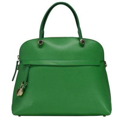 Furla Piper M Dome Handbag (Emerald)