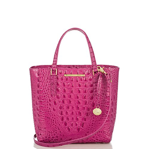 NEW Brahmin Harrison Carryall in Pink Dahlia Melbourne Leather