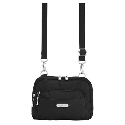 Baggallini Triple Zip Crossbody Travel Bag
