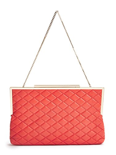 Marciano Women's Quilted Frame Clutch