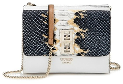 GUESS Pierce Mini Crossbody Bag, Python