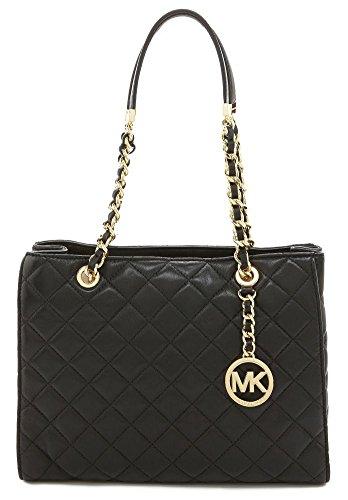 Michael Kors Susannah Women's Medium Quilted Handbag Leather