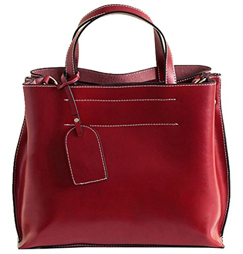 Heshe 174 New Leather Fashion Women S Simple Style Tote Top