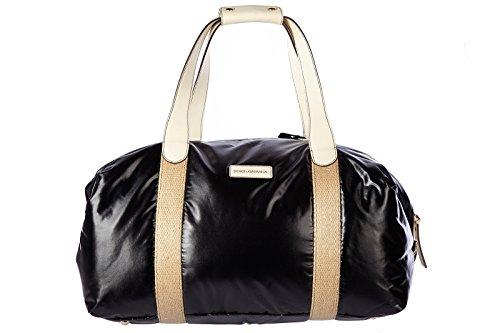 Dolce&Gabbana travel duffle weekend shoulder bag Nylon black