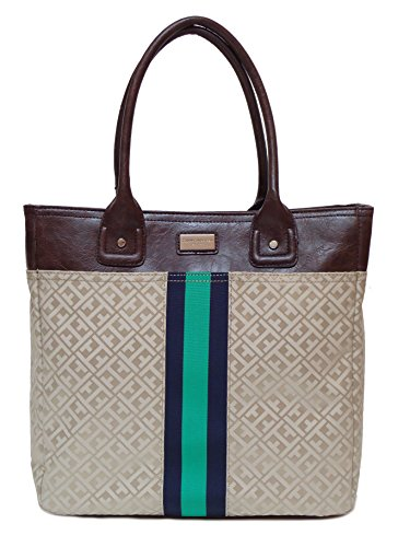 Tommy Hilfiger Woman's LG Shoulder Tote Handbag