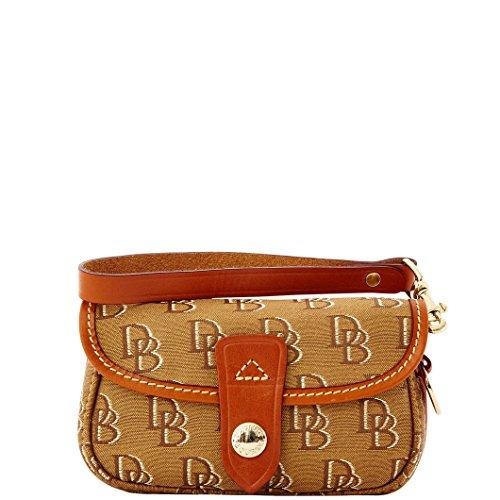 Dooney & Bourke Shadow DB Flap Purse Wristlet