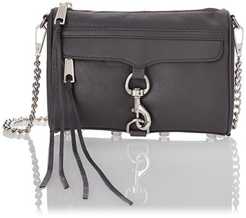 Rebecca Minkoff Mini MAC Convertible Cross-Body Bag,New Grey,One Size