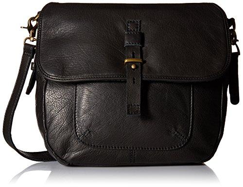 Lucky Brand Medine Conv Messenger Bag, Black, One Size