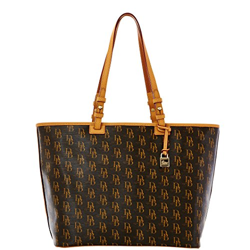 Dooney & Bourke 1975 DB Signature Leisure Shopper Handbag