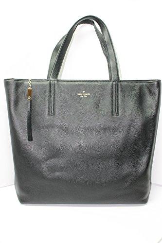 Kate Spade New York Grey Street Elliot Black Large Tote Bag Purse