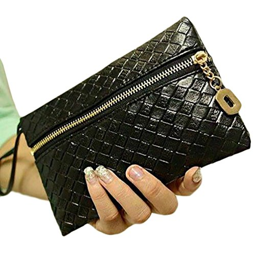 Josi Minea Beautiful & Elegant Leather Wristlet Purse for Casual, Business & Evening Outing