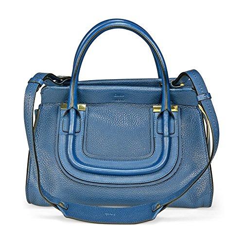 Chloe Everston Calfskin Satchel – Factory Blue