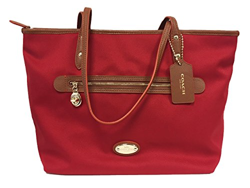 Coach Tote in Polyester Twill Handbag F37336