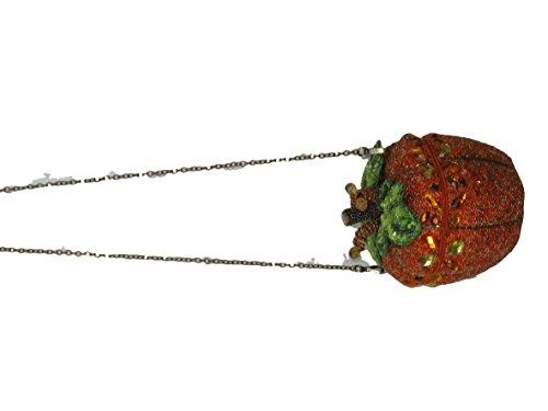 After Midnight Orange Pumpkin Mary Frances Designer Handbag
