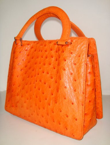 Florence Sm – Genuine Ostrich Handbag