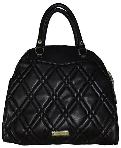 Steve Madden Women's Medium Satchel Handbag, Black